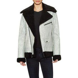 BLK DNM genuine shearling jacket